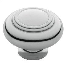 Polished Chrome Ring Deco Knob