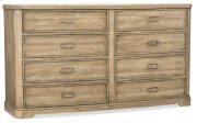 Bedroom Urban Elevation Eight-Drawer Dresser Product Image