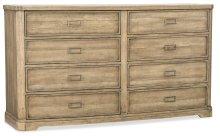 Bedroom Urban Elevation Eight-Drawer Dresser