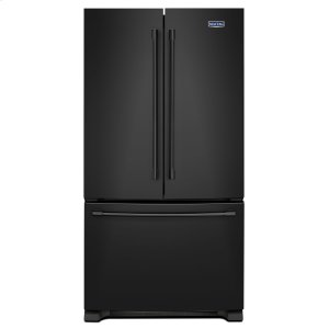 36-Inch Wide French Door Refrigerator - 25 Cu. Ft. Black - BLACK