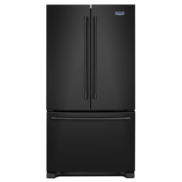 36-Inch Wide French Door Refrigerator - 25 Cu. Ft. Black