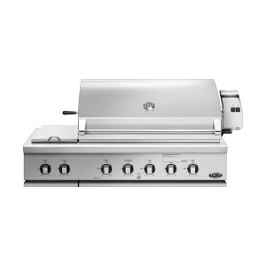 "DCS48"" Traditional Grill With Rotisserie and Side Burners"
