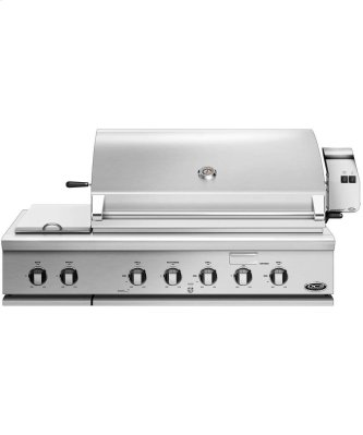 """48"""" Series 7 Grill With Integrated Side Burners, Natural Gas"""