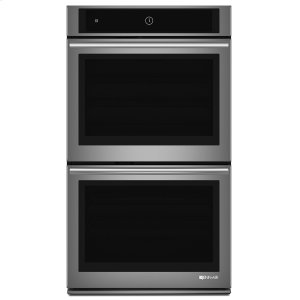 "JENN-AIREuro-Style 30"" Double Wall Oven with Upper MultiMode(R) Convection System Stainless Steel"