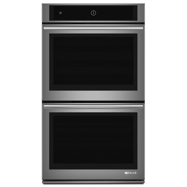 """Jenn-Air Euro-Style 30"""" Double Wall Oven with Upper MultiMode® Convection System Stainless Steel"""