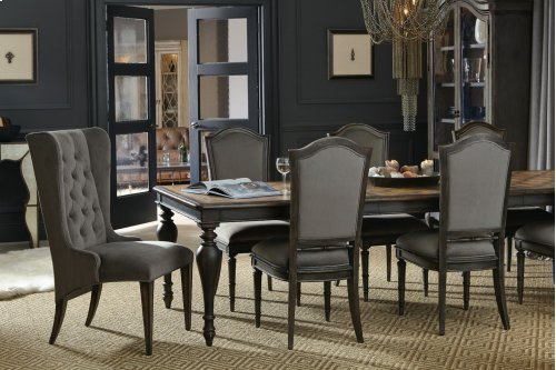 Dining Room Arabella Rectangle Leg Table w/2-20 in leaves