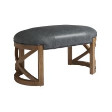 Marcel Leather Bench