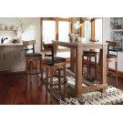 Pinnadel - Grayish Brown 5 Piece Dining Room Set Product Image