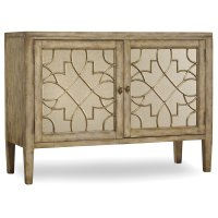 Living Room Sanctuary Two-Door Mirrored Console - Surf-Visage Product Image