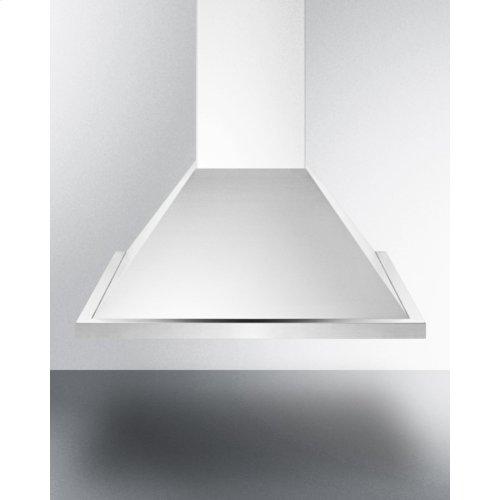 """24"""" European 500 Cfm Range Hood In Stainless Steel"""