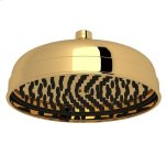 "RohlEnglish Gold Perrin & Rowe Transitional 8"" Rain Showerhead"