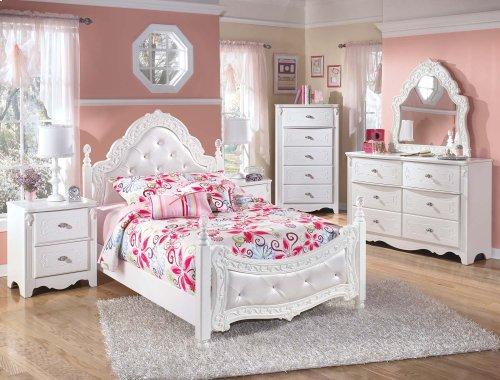 Exquisite - White 2 Piece Bed Set (Full)