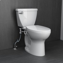 AquaWash Telescoping Bidet Seat - White