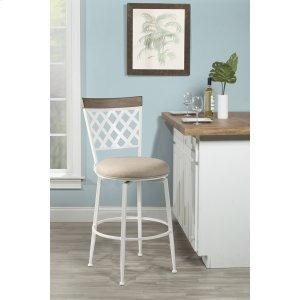 Hillsdale FurnitureGreenfield Commercial Grade Swivel Bar Stool - White