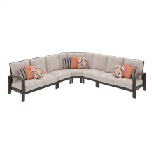 Cordova Reef - Dark Brown 4 Piece Patio Set