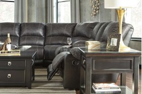Nantahala - Slate 6 Piece Sectional