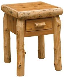 Cedar One Drawer Nightstand - Traditional Cedar
