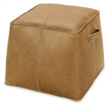 Living Room Dizzy Leather Ottoman