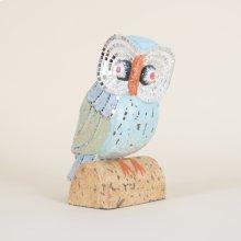 Wooden Mosaic Owl