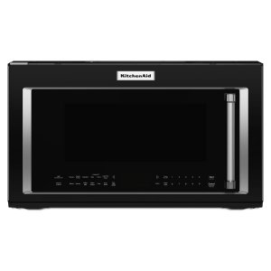 1000-Watt Convection Microwave Hood Combination Black -