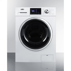 "Summit24"" Wide 115v Washer/dryer Combo for Non-vented Use; Replaces Spwd2200w"