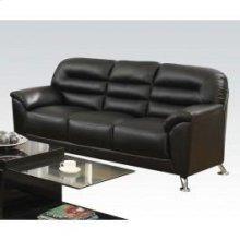 Black Pu Sofa
