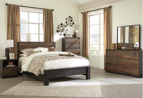 Windlore - Dark Brown 3 Piece Bed Set (Queen)