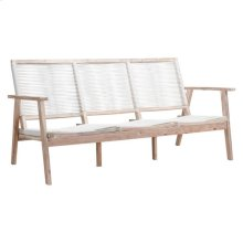 South Port Sofa White Wash & White
