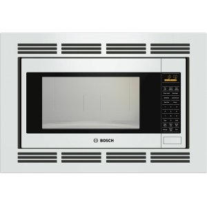 Bosch500 Series Built-In Microwave Oven 24'' White, Left SideOpening Door HMB5020