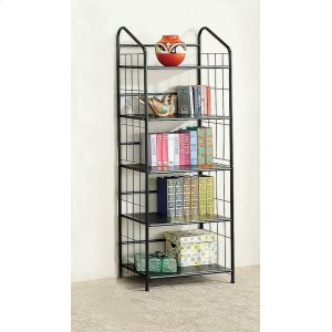 CoasterHome Office Casual Black Bookcase