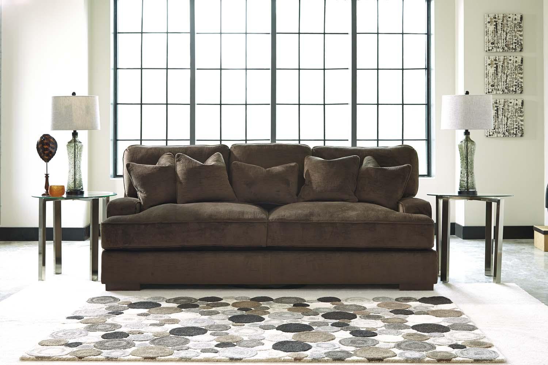 Hidden · Additional Ashley 65306 Bisenti   Chocolate Living Room Set  Houston Texas USA Aztec Furniture