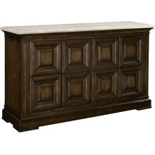 Rockwell Sideboard with Stone Top