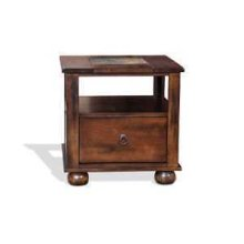 Santa Fe End Table w/ Drawer