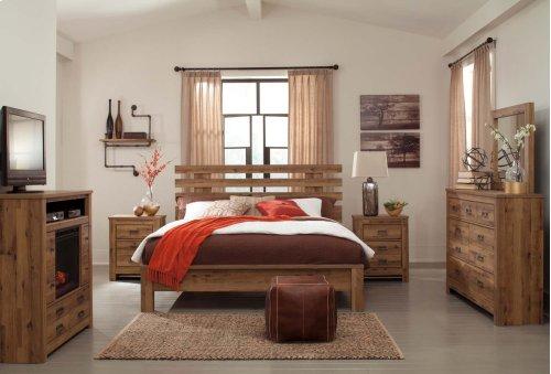 Cinrey - Medium Brown 2 Piece Bedroom Set