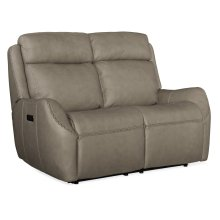 Living Room Sandovol Power Recliner Loveseat w/ Power Headrest