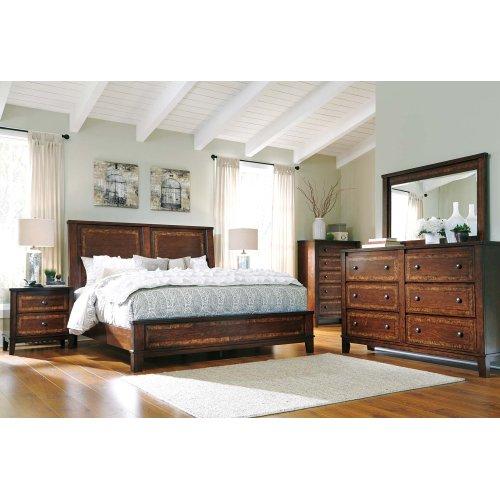 Ashley King Panel Bed