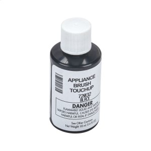 Black Appliance Touchup Paint -