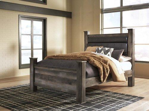 Wynnlow - Gray 3 Piece Bed Set (Queen)