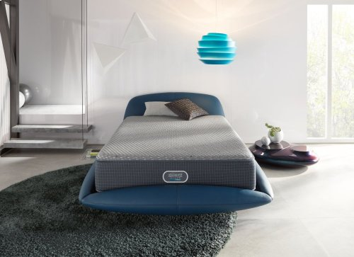 BeautyRest - Silver Hybrid - Crisp Point - Tight Top - Luxury Firm - Full