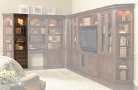 Home Office European Renaissance II 22'' Wall Storage Cabinet Product Image