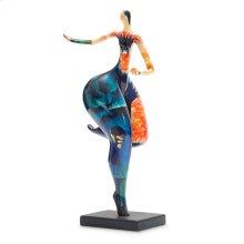 Dancing Statue, Blue