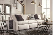 Savesto - Ivory 3 Piece Sectional