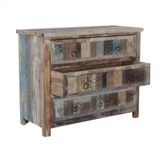 Vintage Print Block 3Dwr Chest SFK Product Image