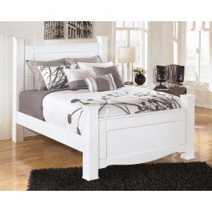 Ashley Furniture Weeki - White 4 Piece Bed Set (Queen)