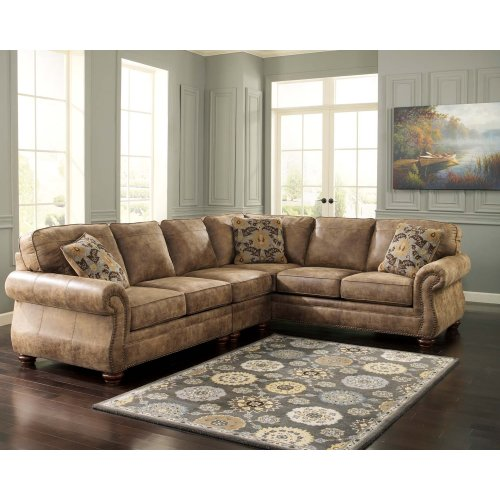 Larkinhurst - Earth 2 Piece Sectional