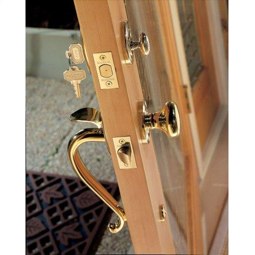 Lifetime Polished Brass Logan Sectional Trim