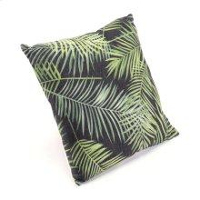 Tropical Black & Green Pillow