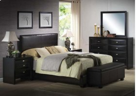 Kit - Black Queen Bed