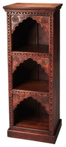 Add classic style with a twist of the East to your space with the Mihrab book case. Crafted out of solid mango wood, this sturdy book case will display all your collectables and act as storage. Product Image