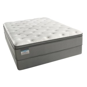 SimmonsBeautySleep - Keyes Peak - Pillow Top - Luxury Firm - Cal King